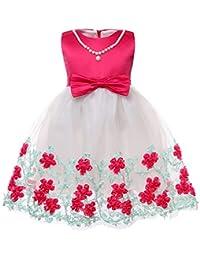 559dd753721 Collar Decorativo Vestido De Princesa con Encajes Sin Mangas Falda De  Fiesta para Niñas 3-