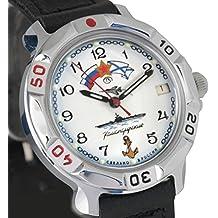 Vostok KOMANDIRSKIE 2414811241azul marino militar ruso reloj mecánico