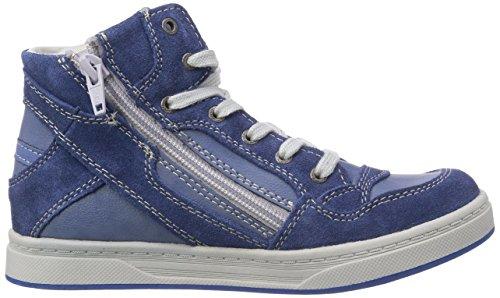 Lurchi Neo II Jungen Hohe Sneakers Blau (blue 22)