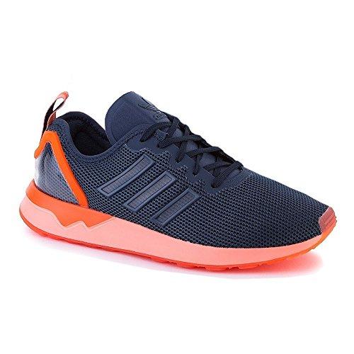 Adidas Originals ZX FLUX ADV Blau Orange Herren Sneakers Schuhe Neu