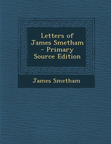Letters of James Smetham