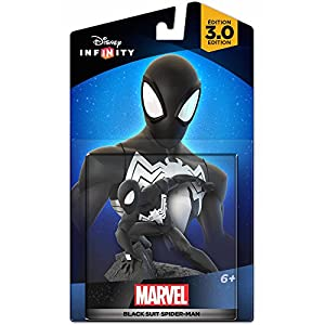 Disney Infinity 3.0 - Marvel Figura Black Suit Spiderman 6