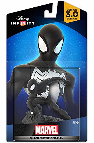 Disney Infinity 3.0 Marvel Black SUIT Spiderman Hybrid Toy