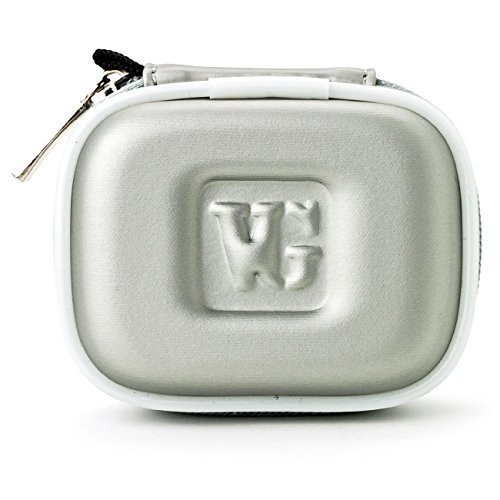 VangoddyTM VanGoddy Compact Carrying Case for Plantronics Marque 2 M165 Bluetooth Headset (Silver)  available at amazon for Rs.1859