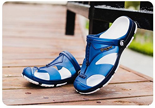 Super weiche Sandalen Herren Sommer waten Schuhe atmungsaktiv und rutschfest Blue