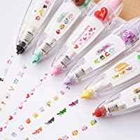 Naisidier Creative Stationery Push Correction Tape Lace for Key Tags Sign Students Child 1Pc