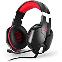 Cuffie da Gaming, EasySMX G1200 Stereo Gaming Cuffie Multifunzione Sono Compatibili per PS4 PC Cellulari e Tablet
