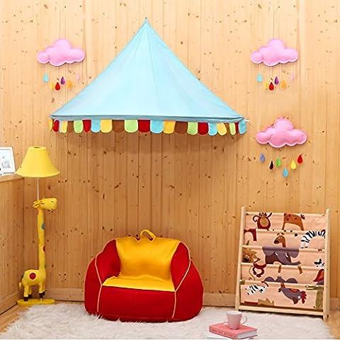 "Betthimmel, OUTAD Regenbogen Kinder Betthimmel, Kinder Prinzessin Spielzelte Dekoration fürs Kinderzimmer (59""×31""×30"")"