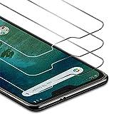 Zloer [Pacco da 3] Xiaomi Mi A2 Lite Pellicola Protettiva in Vetro Temperato [9H durezza/Anti-Impronte Digitali] [Anti-Graffi][Senza Bolle]...