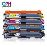 OFFICE HELPER - TN-241 TN-242 TN-245 TN-246 Toner Tonerpatrone, für Brother Drucker DCP-9020CDW HL-3140CW HL-3150CDW HL-3170CDW MFC-9140CDN MFC-9330CDW(1 * schwarz, 1 * blau, 1 * rot, 1 * gelb)