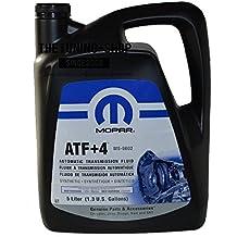 Mopar ATF+4 Fluido originale per trasmissione automatica per Chrysler, Dodge e Jeep, confezione da 5 l