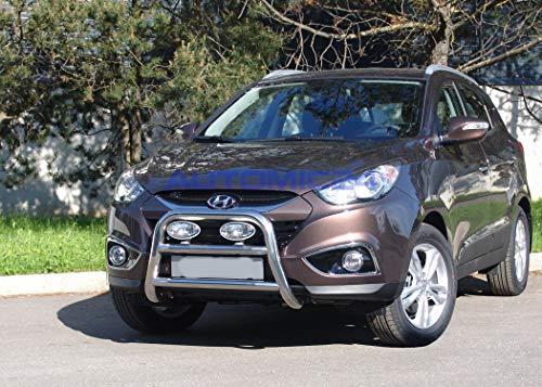 Preisvergleich Produktbild Automic24 Frontbügel Bullenfänger Frontschutzbügel Rammschutz Hyundai ix35 Zulassung