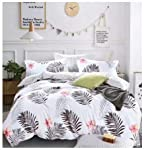 Starstorm_6 Pieces King Size Fitted Bed Sheet Set_Palm Leaf Design (Click above on Starstorm for more designs)