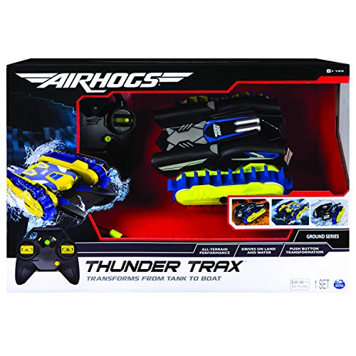 Spin Master Air Hogs Thunder Trax Remote Controlled Cross-Country Vehicle - Juguetes de Control Remoto (AA, 1,5 V, 1,33 kg, 457,2 mm, 177,8 mm, 304,8 mm)