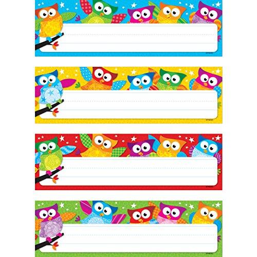 Trend Enterprises owl-stars. Schreibtisch Topper Namensschilder Variety Pack, 32/Pkg (t-69910)
