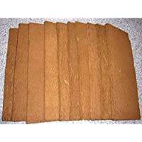 Bens Jungle xaxim Juego de 10xaxim Placas/algodón Helecho Placas Zelanda 50x 20x 1,5cm (Suave) para terrarios Posterior