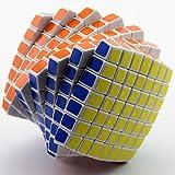 WXXW Zauberwürfel,7x7 Speed Cube,Magic Cube,3D Puzzles Kombinationsübungen Druckminderer Intelligenz IQ Geschenk Kind Kindergeburtstag
