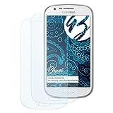 Bruni Schutzfolie für Samsung Galaxy Express (GT-i8730) Folie - 2 x glasklare Displayschutzfolie