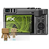 Panasonic Lumix DC-TZ90 Miroir Film Protecteur - atFoliX FX-Mirror Protection d'écran avec effet miroir