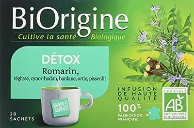 VITARMONYL Biorigine Tisane Détox 20 Infusions - Lot de 3