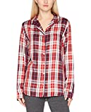 Tommy Hilfiger Varsity Shirt Ls Tartan, Haut de Pyjama Femme