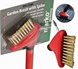 515kqiULnVL. SL160  - BEST BUY# Marko Gardening Telescopic Patio Cleaning Wire Brush 2IN1 Block Paving Weed Scraper Brush Garden (1) Reviews