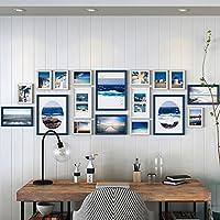 Rahmen Deko Große Mauer Massivem Holz Foto Wand Wohnzimmer Wand Modern  Minimalist Kreative Art Portfolio Foto