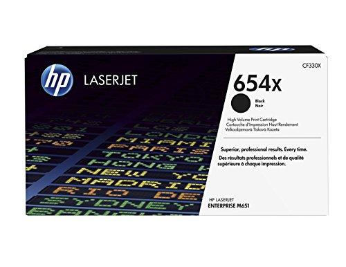 Preisvergleich Produktbild HP 654X (CF330X) Schwarz Original Toner mit hoher Reichweite für HP Color Laserjet Enterprise M651