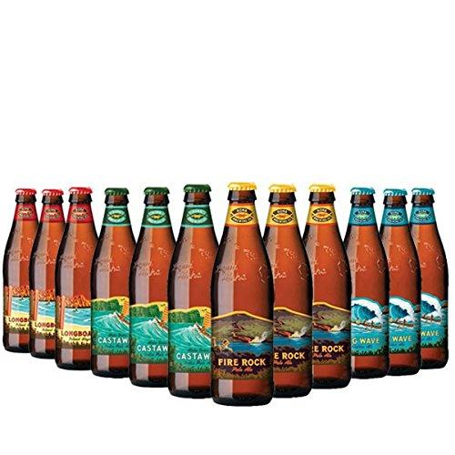 Kona-Brewing-Mega-Pack - 4x3 Biere aus Hawaii 12x0,355l inc. 3.00€ EINWEG Pfand