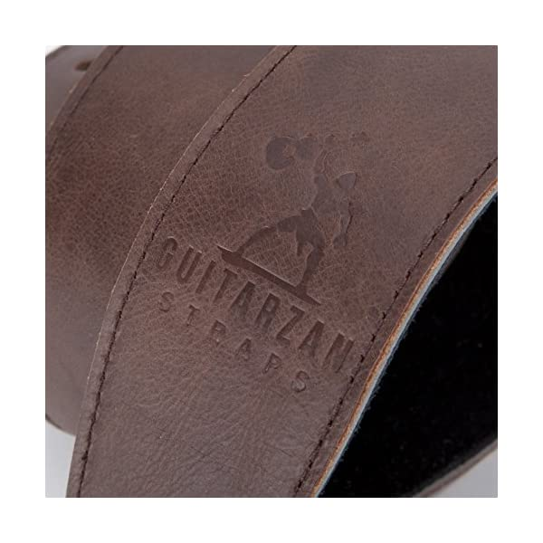 Guitarzan Leather Guitar Straps