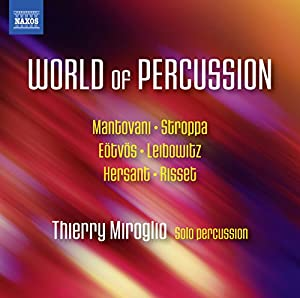 """Afficher """"The world of percussion"""""""