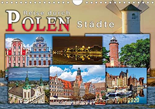 Reise durch Polen - Städte (Wandkalender 2020 DIN A4 quer)