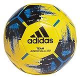 adidas Unisex Kinder-Fußball Futsal Team JS 350, Yellow/Black/Blue, 5