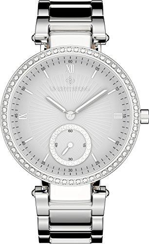 Timothy Stone ELLE STAINLESS damenuhr - Armbanduhr Analog Quarz, Farbe Silber Designuhr