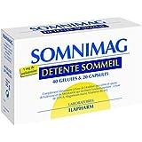 Laboratoires Ilapharm - Somnimag- Plantes, Vitamines Et Minéraux - Sommeil Serein Et Reparateur - Boite De 40...