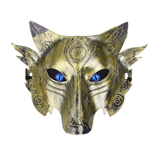 erwolf Wolf Maske Maskerade Cosplay Requisiten Movie Theme Halloween Party Supplies - 3# ()