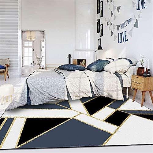XTUK Home Decoration Teppich Teppich Modernes Dekoratives Zeitgenössisches Design Teppich und Läufer Handgetuftet Home Wohnzimmer Haus Teppich Nicht-Schlupf Startseite Decor Bereich Teppiche