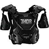 Thor Guardian Brustpanzer Motocross Enduro Offroad Quad Cross Blau Schwarz