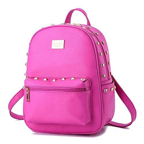 koson-man-girl-womens-rivets-backpack-daily-shoulders-bagrosered