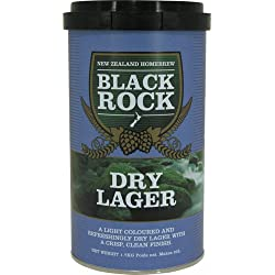 Black Rock 21435 - Kit Cerveza Dry Lager