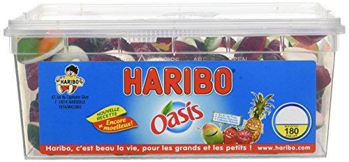 Haribo Tubo Oasis x 180 1,1 kg - Lot de 2