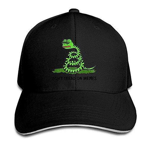 U-Only Men Sandwich Cool Trucker Hat Pepe Frog Don t Tread on Memes 5c06f8e617f9