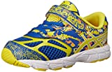 ASICS Kids Noosa Tri 10 TS Running Shoe Blue/Flash Yellow/Orange 9 M US Toddler