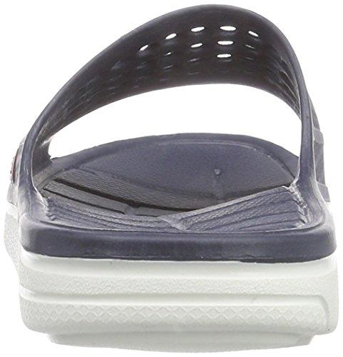 hummel Sport Sandal, Chaussures de Plage et Piscine Mixte Adulte Bleu (Dress Blue 7459)