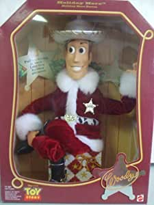 Toy Story Holiday Hero WOODY Doll by Mattel