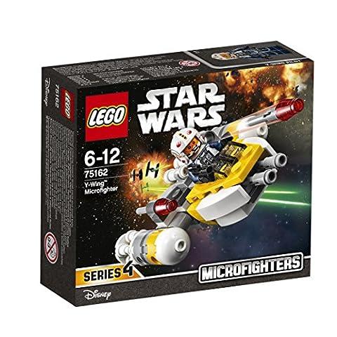LEGO - 75162 - Star Wars - Jeu de Construction - Microvaisseau Y-Wing