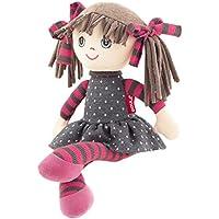 Goula - Alice, muñeca, Color Marron (Diset 52003)