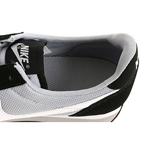 Nike Elite (Gs), Chaussures de Running Entrainement Garçon, Noir Noir / Blanc / Gris (Noir / Blanc-Loup Gris)