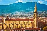 druck-shop24 Wunschmotiv: Basilica Santa Maria Novella in Florence, Italy #125319684 - Bild auf Leinwand - 3:2-60 x 40 cm / 40 x 60 cm