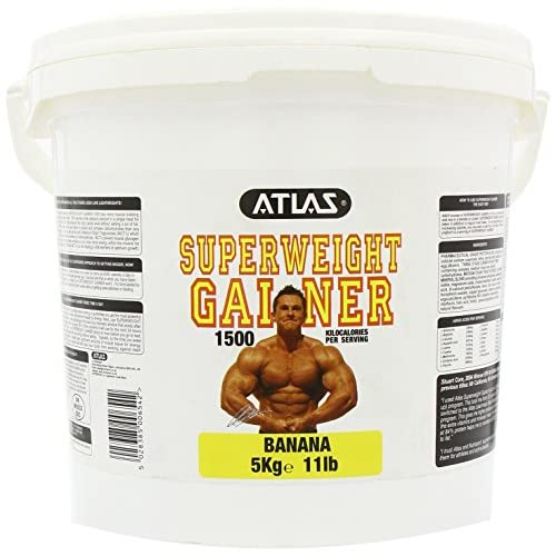 515l1I4aPBL. SS500  - Atlas Super Weight Gainer 5kg is lower in fat, and higher in protein and complex carbohydrate than any other leading…